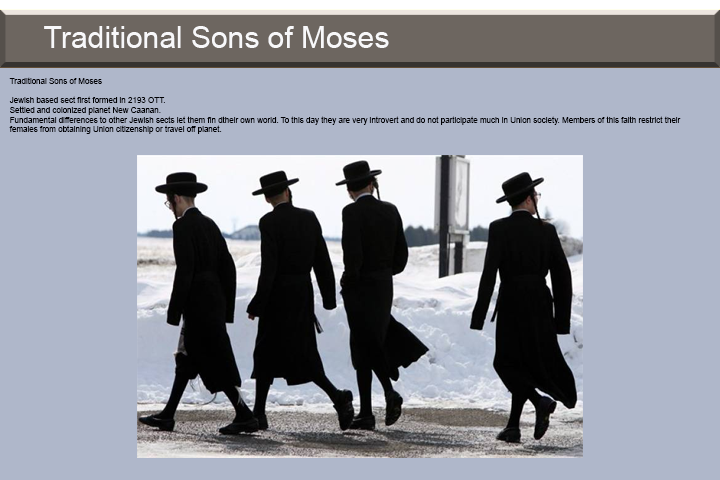 Traditional Sons of Moses