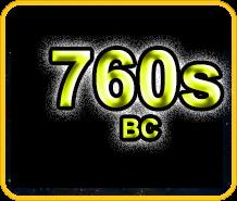 760s BC