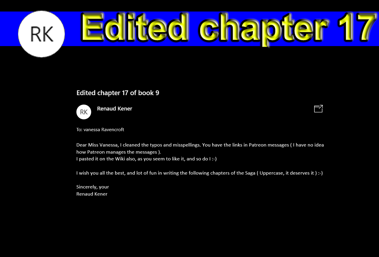 Book 9, chapter 17 Trust Issues (minor spelling corrections