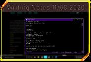 Writing Notes 11