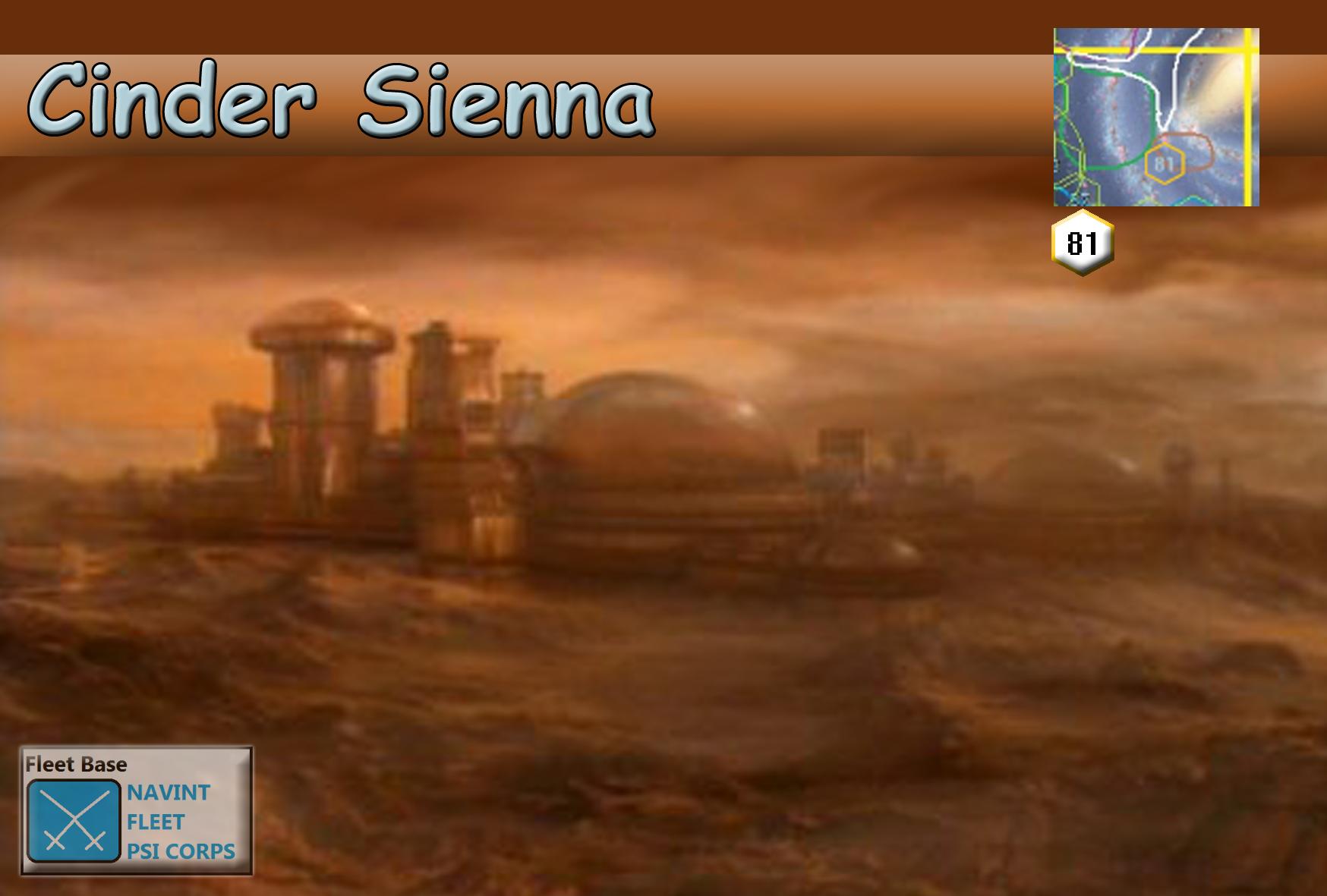 Cinder Sienna