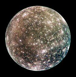 Callisto, Moon