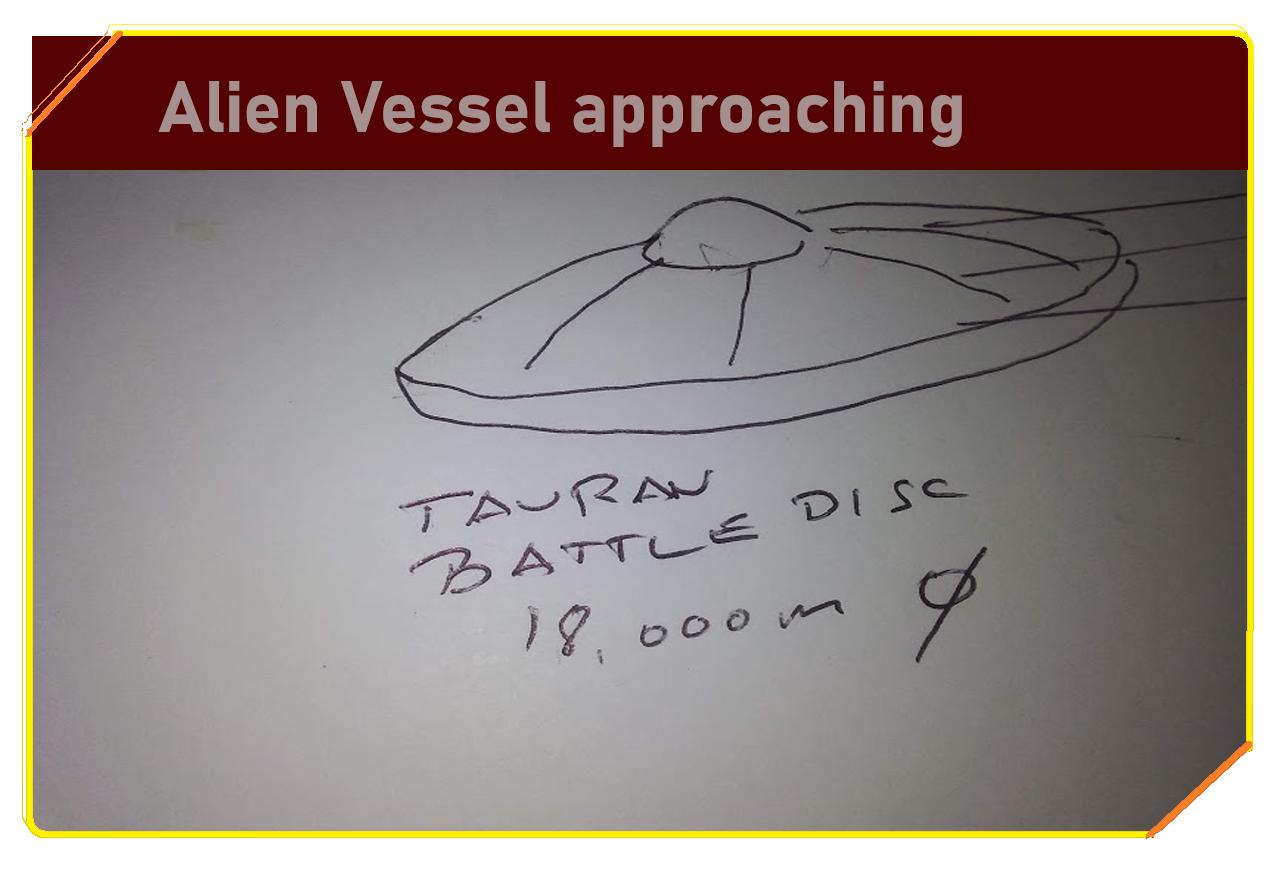 Alien Vessel approaching