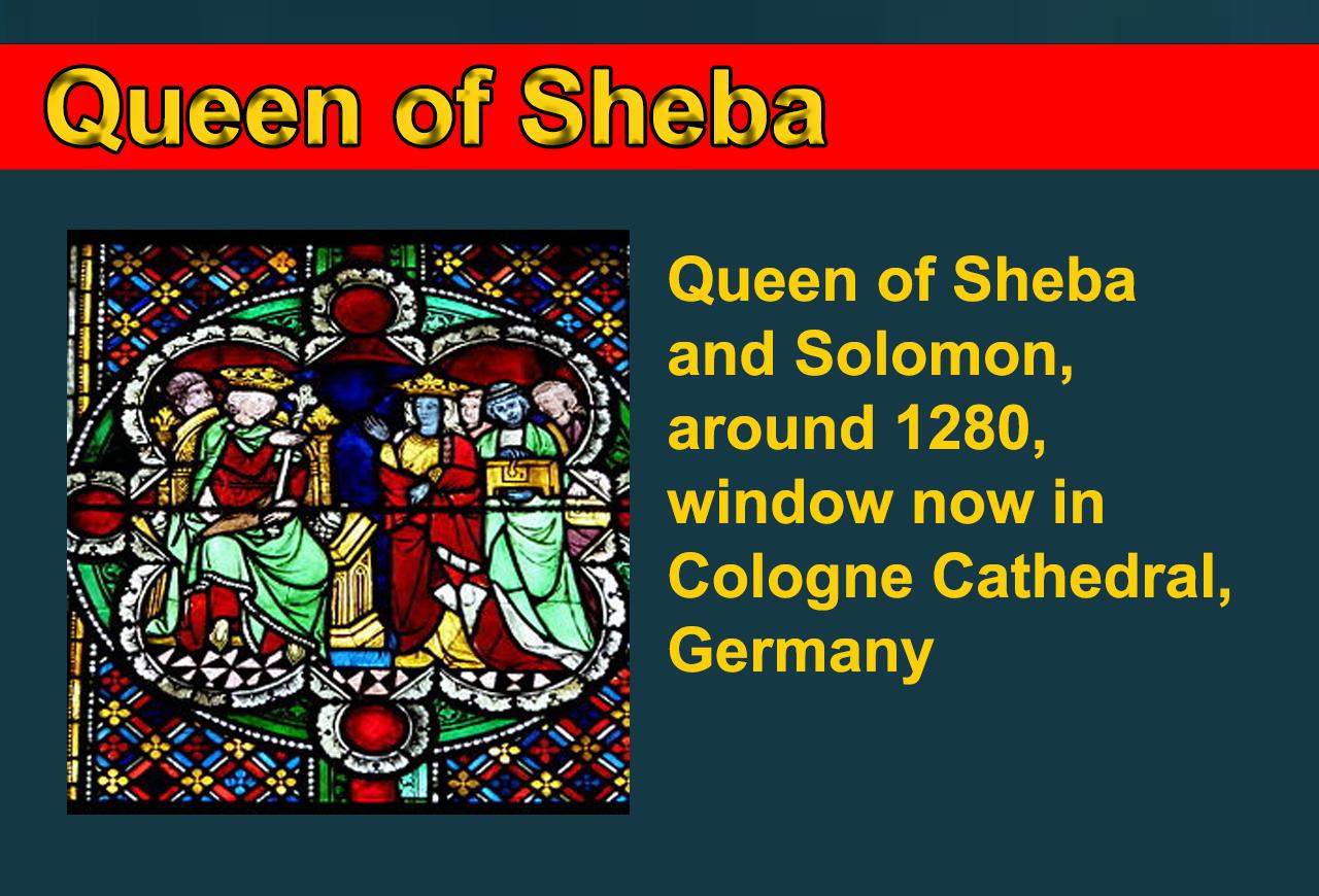 Queen of Sheeba, biblical