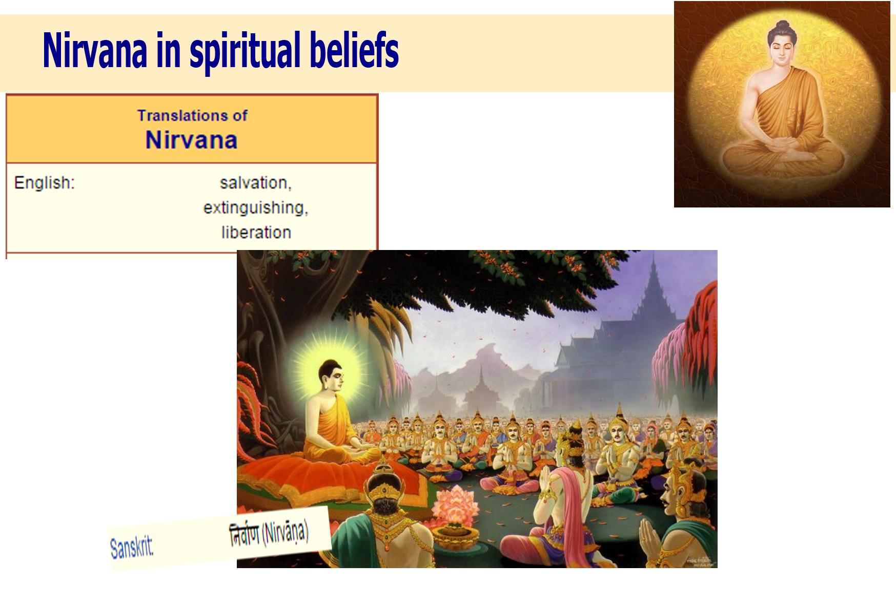 Nirvana in spiritual beliefs