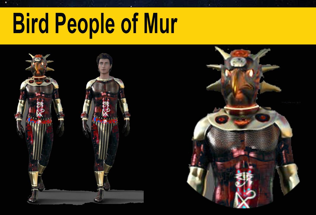 Bird People of Mur