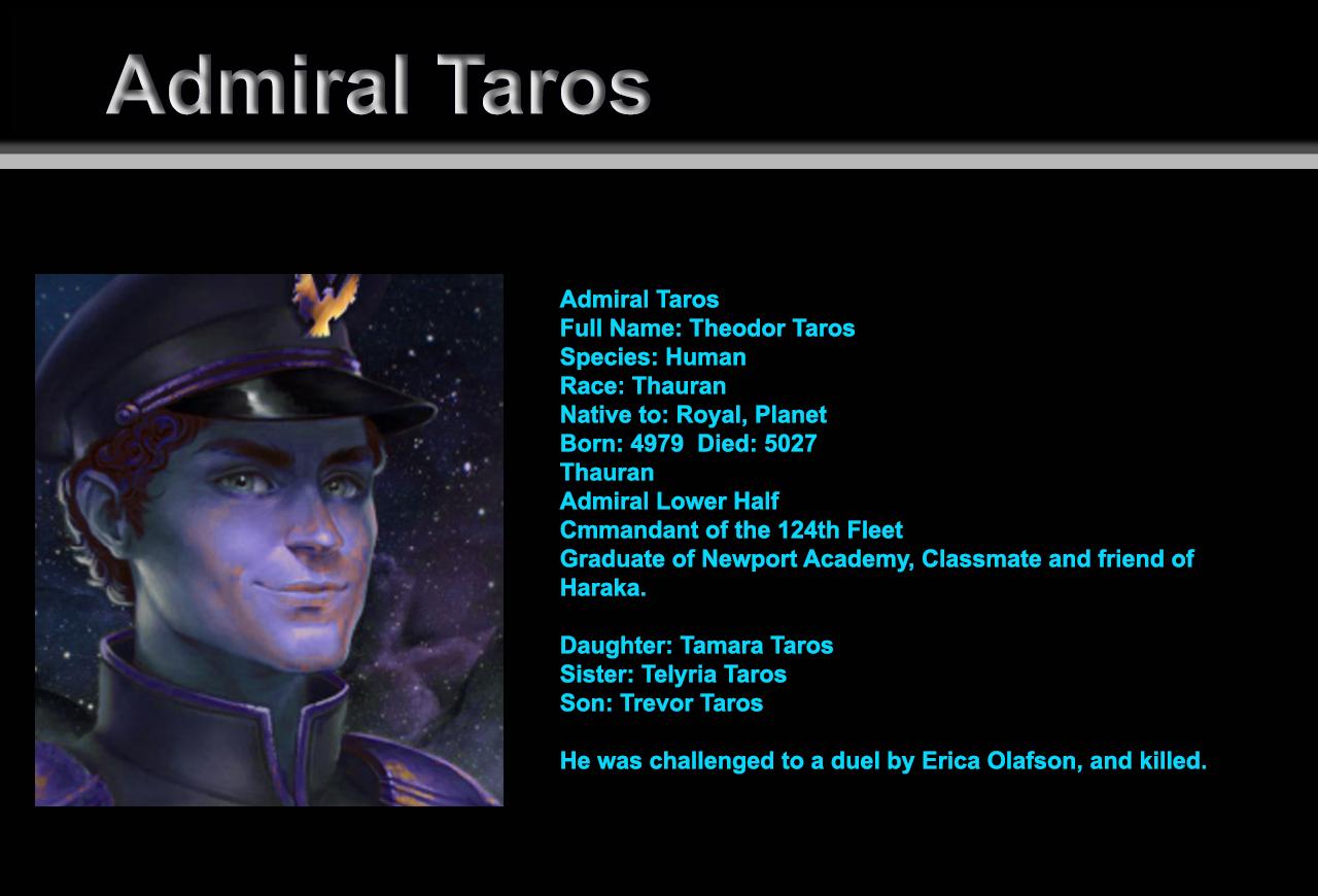 Admiral Taros
