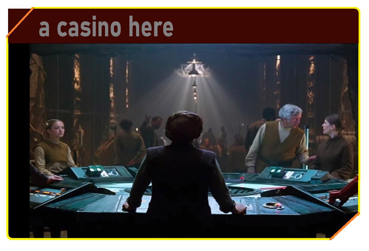 A casino here