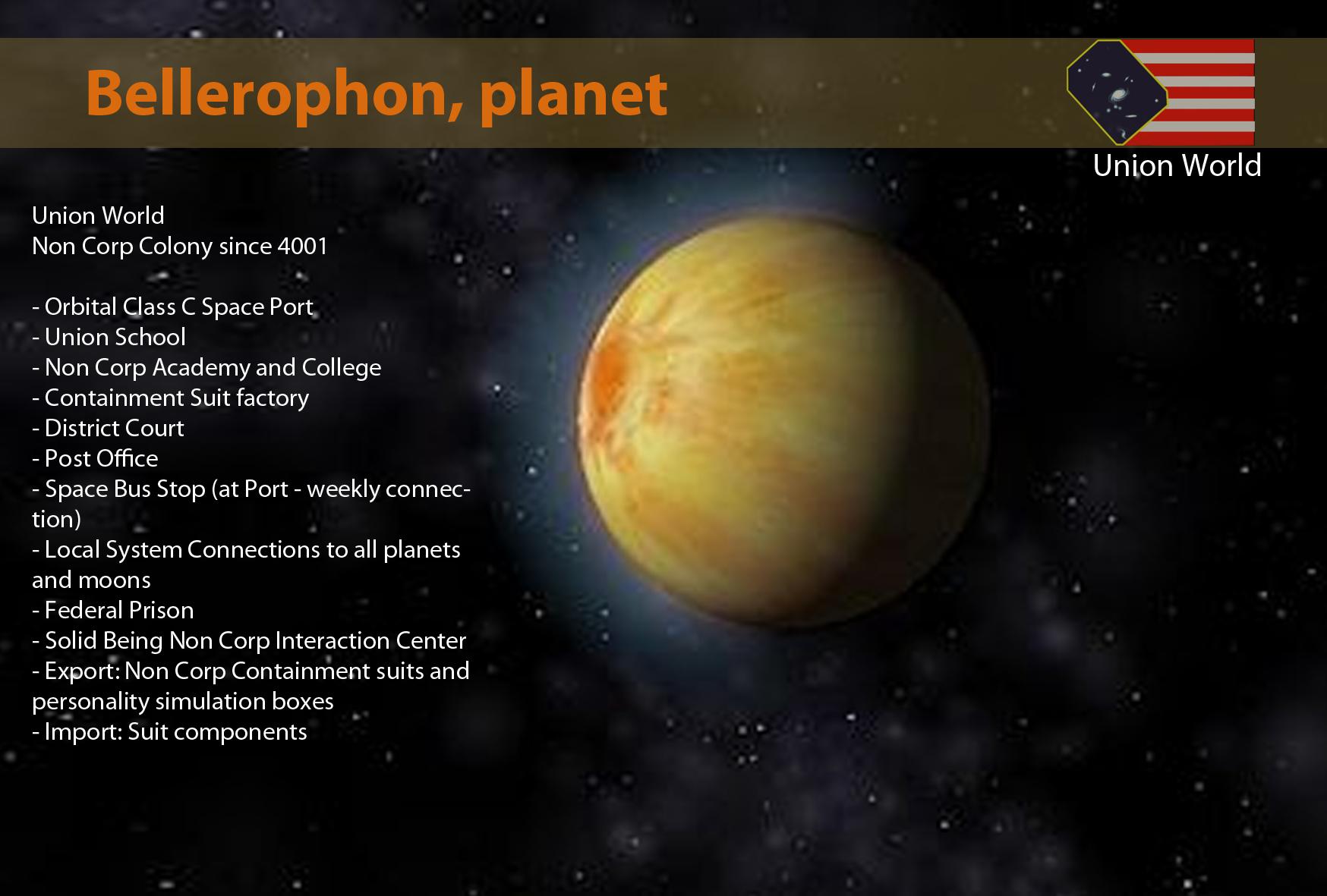 Bellerophon, planet
