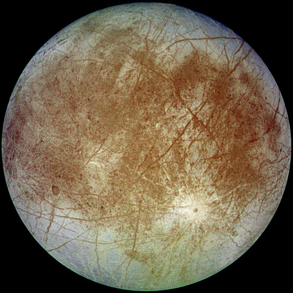 Europa, Moon