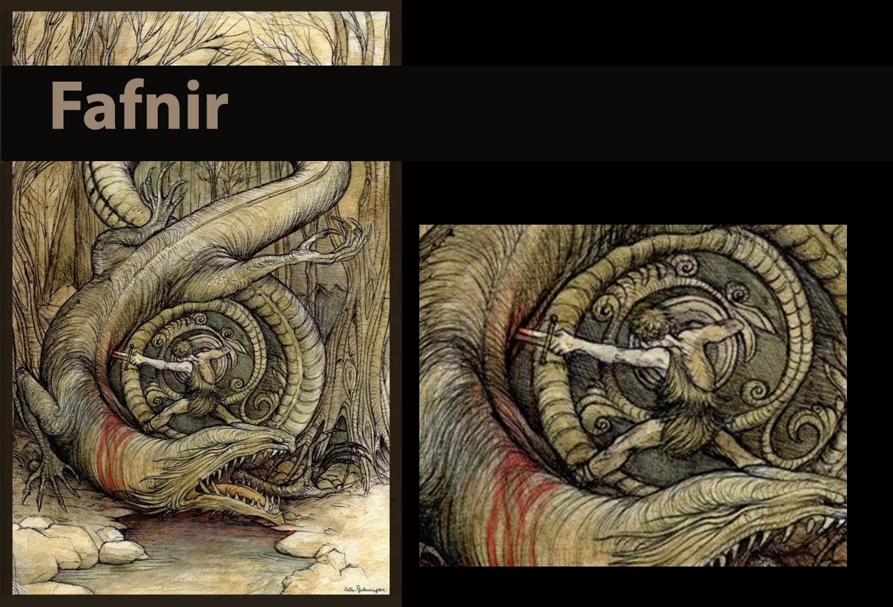 Fafnir – the Greedy Guardian of Gold