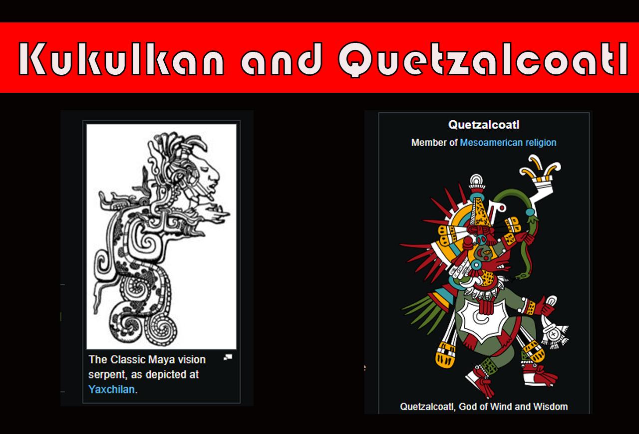 Kukulkan and the Aztec Quetzalcoatl