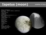 Iapetus, moon