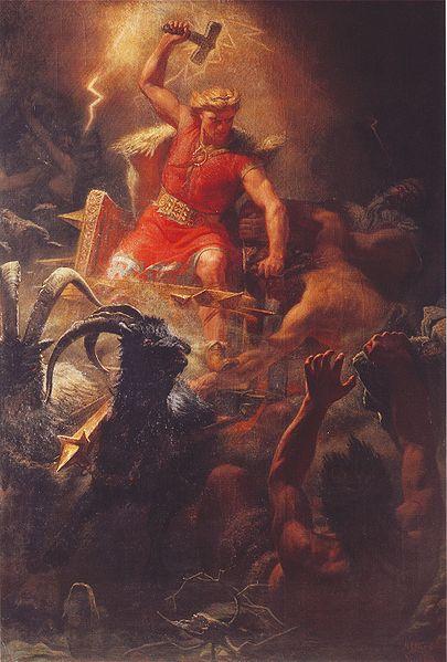 Thor the thunder god