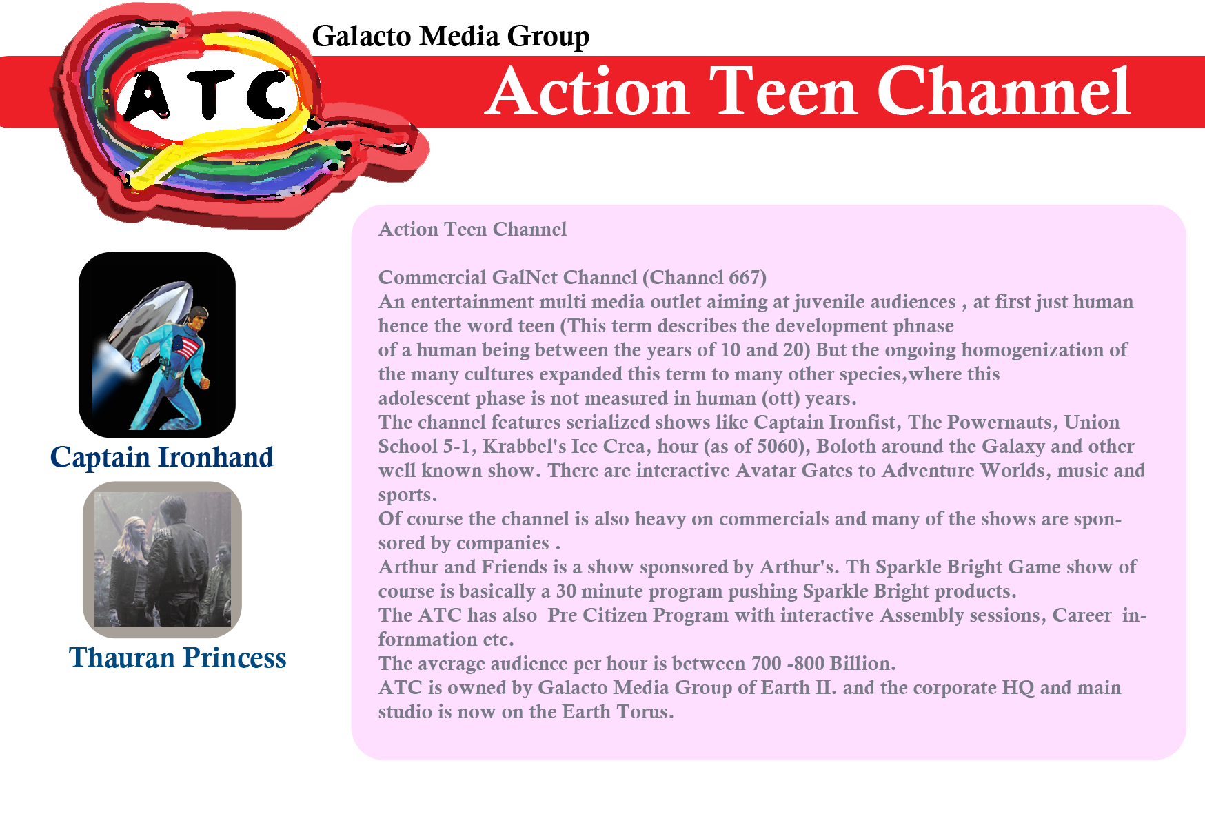 Action-Teen Channel