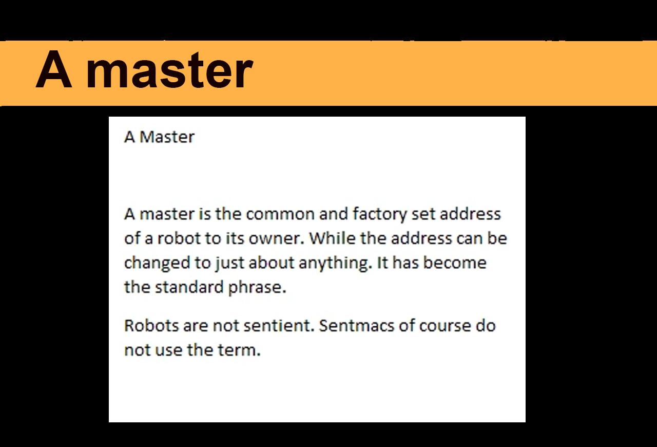 A master