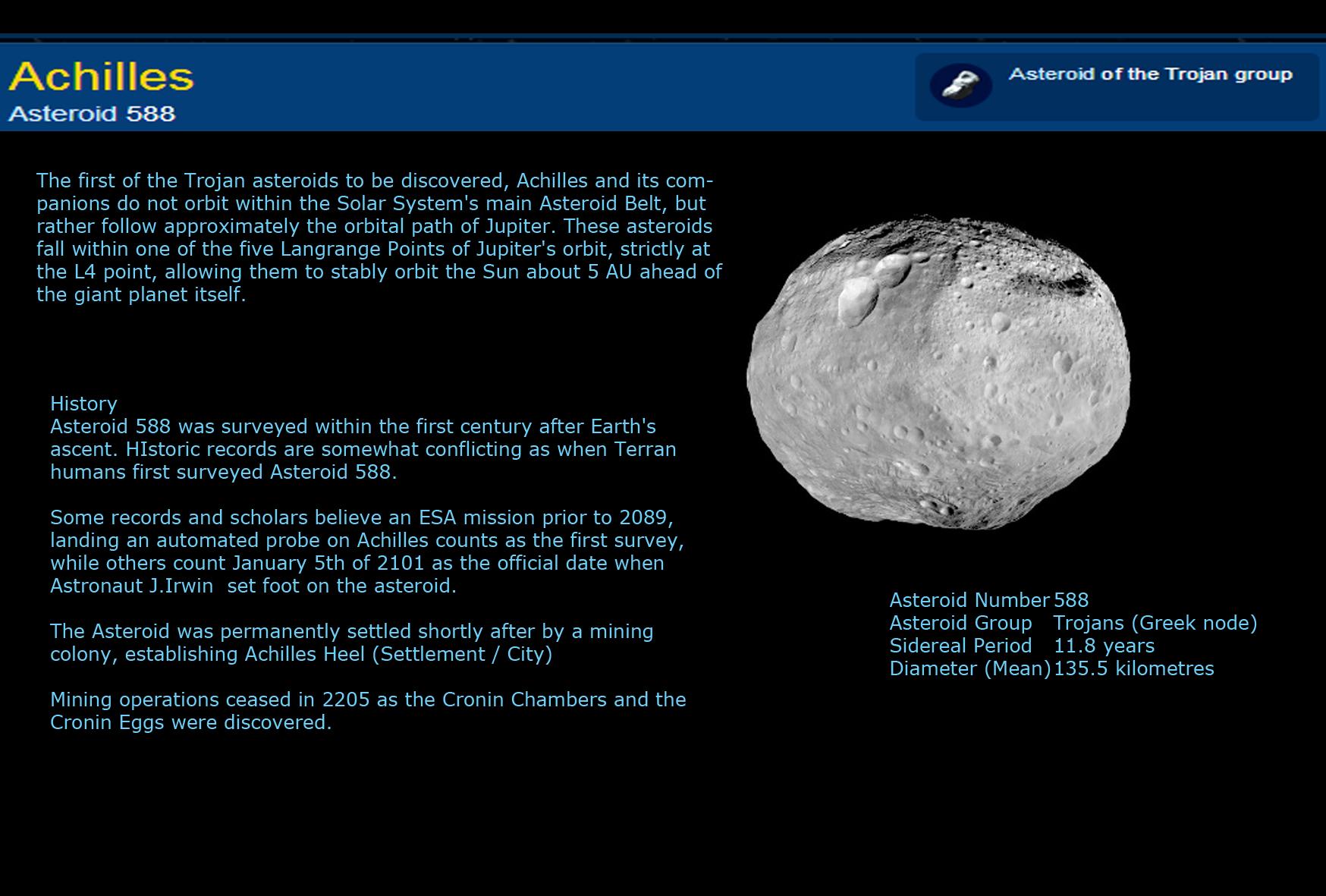 Asteroid 588