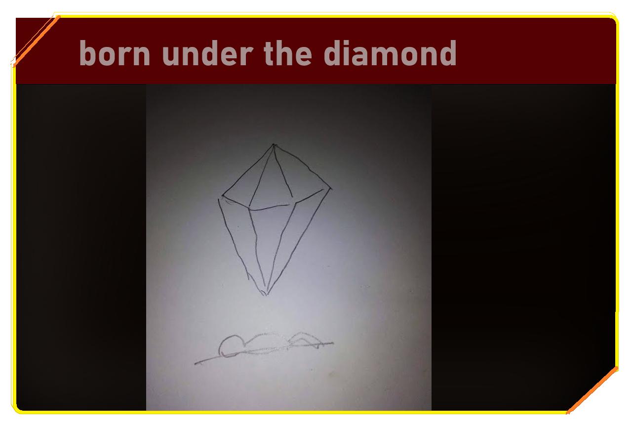 Born under the diamond
