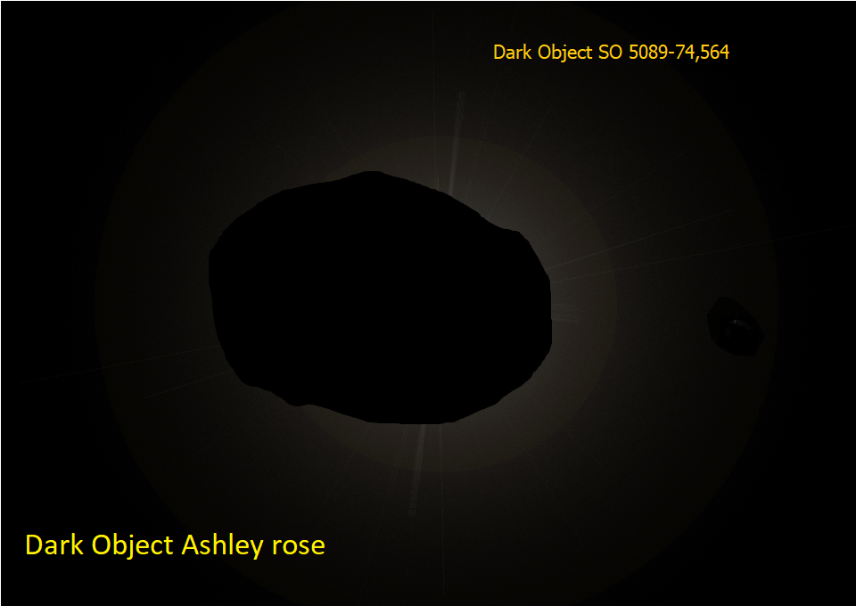 Ashley Rose, Dark Object