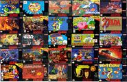 SNES games-25 all