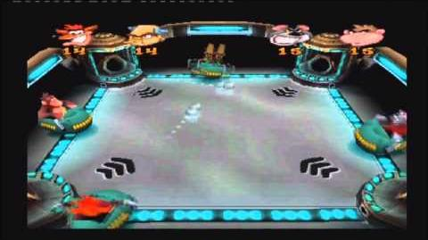 Crash Bash Walkthrough World 1 Mini Game 1 Crashball