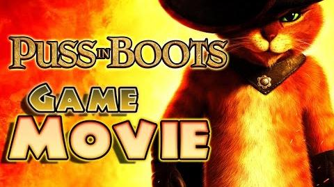Puss in Boots All Cutscenes Full Game Movie (PS3, X360, Wii)