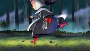 Doria Running In Forest