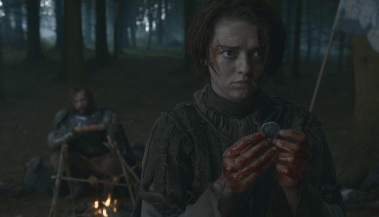 Arya après le meurtre d'un soldat Frey.jpg