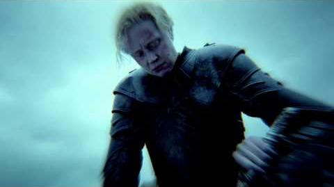Game of Thrones Season 5 The Sight Brienne and Podrick (HBO)