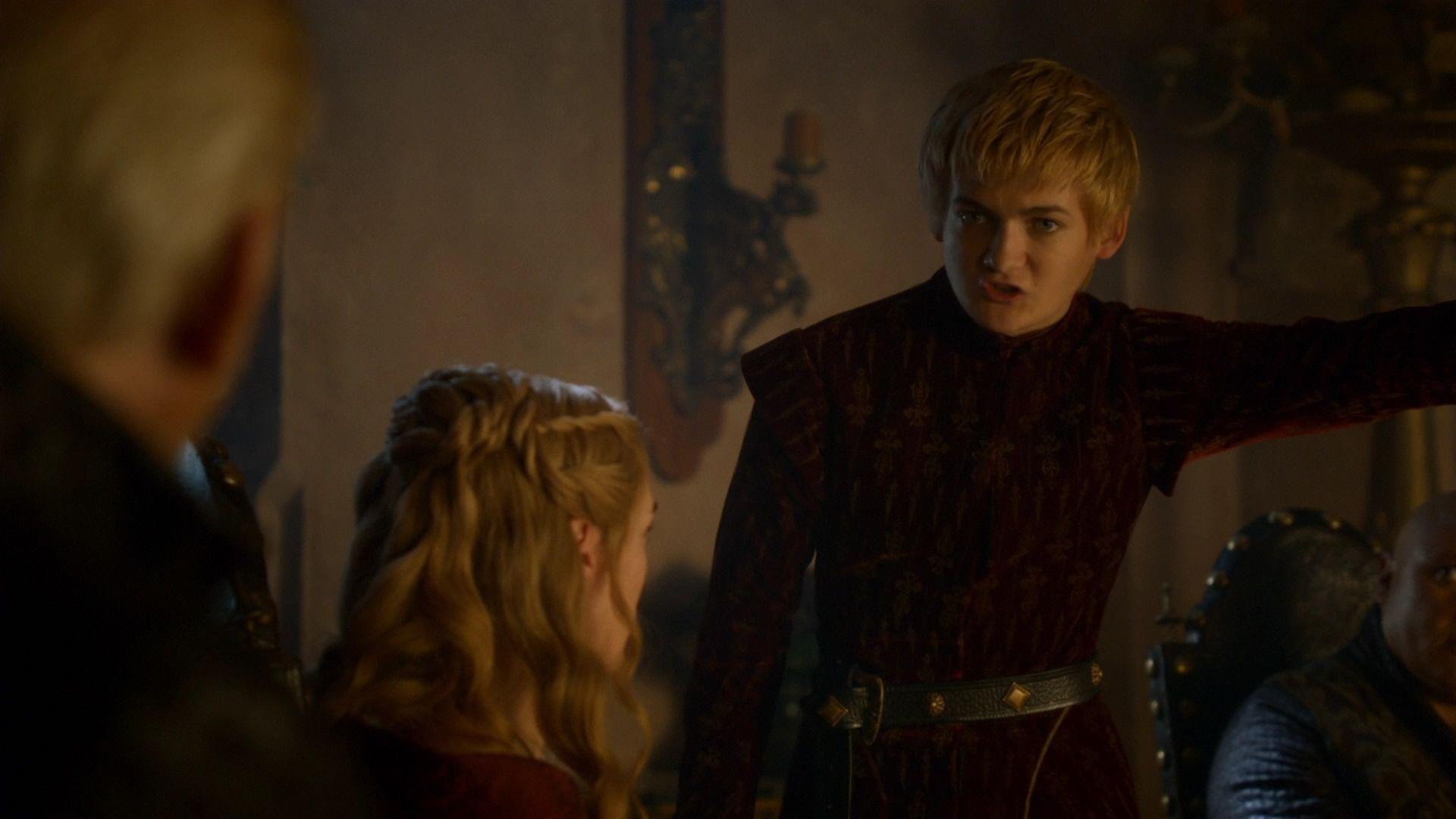 Joffrey provoque Tywin.jpg