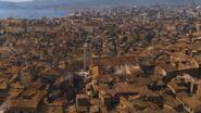 Port-Réal vu depuis la tour de la main (2x01)