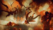 Soldats de Harrenhal en flammes 1