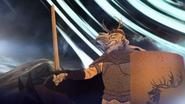 Argilac devant l'armée de Orys