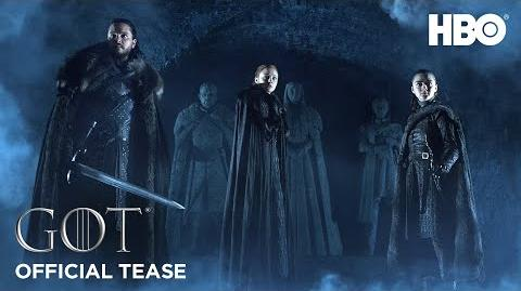 Game of Thrones Saison 8 Official Tease Crypts of Winterfell (HBO)-0