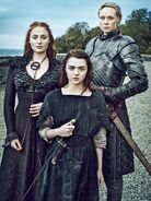 Promo (Arya, Sansa, Brienne) Saison 6