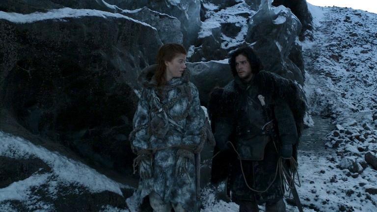 Jon Snow et Ygrid discutent de sujets sexuels.jpg