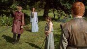 Joffrey Sansa Arya Mycah(1x02).jpg