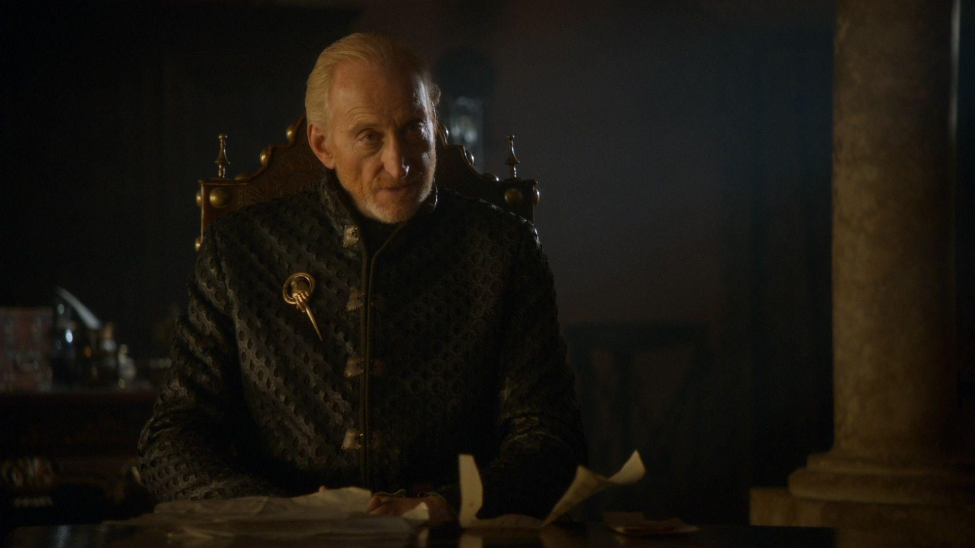 Tywin affirme qu'une couronne n'est pas synonyme de pouvoir.jpg