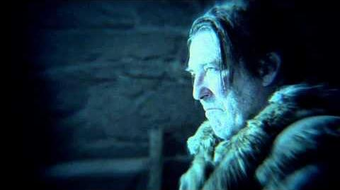 Game of Thrones Season 5 The Sight Jon Snow and Mance (HBO)