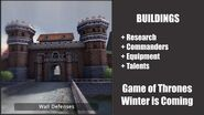 Wall - Buildings - Game of Thrones, Winter is coming