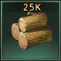 Wood 25k