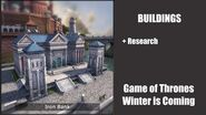 Iron Bank - Buildings - Game of Thrones, Winter is coming