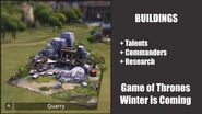 Quarry - Buildings - Game of Thrones, Winter is coming