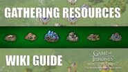 Resource and Diamond Gathering - Guides - Game of Thrones Winter is Coming