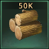 Wood 50k