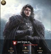 Jon Snow -