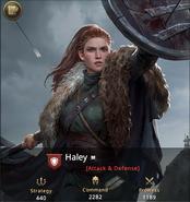 Haley -
