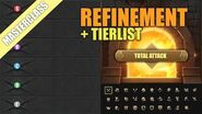 Refinement Guide - Tierlist Masterclass - Game of Thrones Winter is Coming