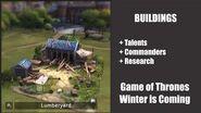 Lumberyard - Buildings - Game of Thrones, Winter is coming