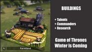 Farmland - Buildings - Game of Thrones, Winter is coming